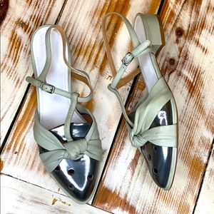 Maison Margiela 22 Leather Slingback Sandals Sz 9